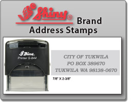 Self Inking Return Address Stamps