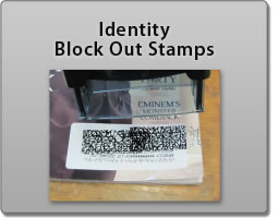 Identity Blockout Stamp